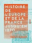 Histoire de l'Europe et de la France jusqu'en 1270