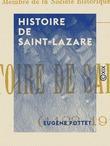 Histoire de Saint-Lazare