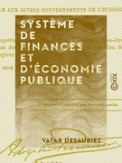 Système de finances et d'économie publique