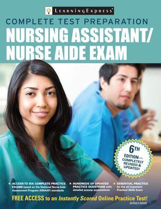 Nursing Assistant/Nurse Aide Exam, 6th Edition