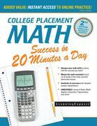 College Placement Math Success in 20 Minutes a Day, 2nd Edition