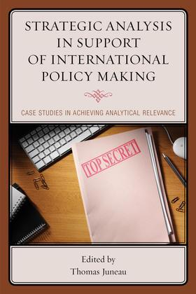 Strategic Analysis in Support of International Policy Making