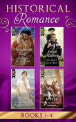Historical Romance Books 1 - 4: The Harlot and the Sheikh (Hot Arabian Nights, Book 3) / The Duke's Secret Heir / Miss Bradshaw's Bought Betrothal / Sold to the Viking Warrior (Mills & Boon e-Book Collections) (Hot Arabian Nights, Book 3)