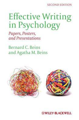 Effective Writing in Psychology: Papers, Posters, and Presentations