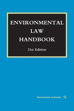 Environmental Law Handbook