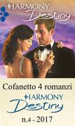 Cofanetto 4 romanzi Harmony Destiny-4