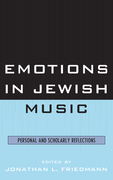 Emotions in Jewish Music: Personal and Scholarly Reflections
