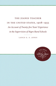 The Jeanes Teacher in the United States, 1908-1933