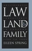 Law, Land, and Family