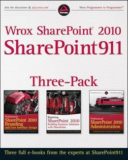 Wrox Sharepoint 2010 Sharepoint911 Three-Pack