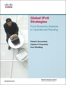 Global Ipv6 Strategies: From Business Analysis to Operational Planning, Adobe Reader