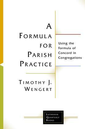 A Formula for Parish Practice