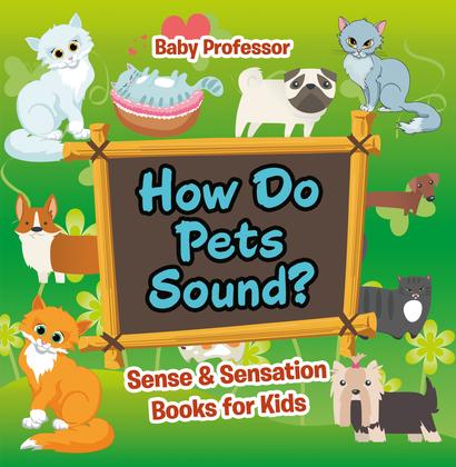 How Do Pets Sound? | Sense & Sensation Books for Kids