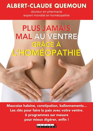 Plus jamais mal au ventre grâce à l'homéopathie