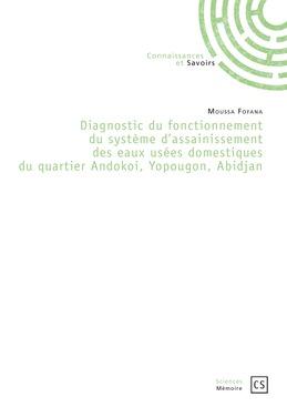 Diagnostic du fonctionnement du système d'assainissement des eaux usées domestiques du quartier Andokoi, Yopougon, Abidjan