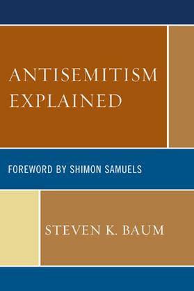 Antisemitism Explained