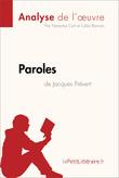 Paroles de Jacques Prévert (Analyse de l'oeuvre)