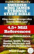 Swedish King James Strongs Study Bible
