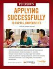Applying Successfully to Top US Universities