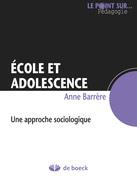 Ecole et adolescence