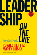 Leadership on the Line, With a New Preface