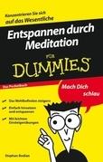 Entspannen durch Meditation für Dummies Das Pocketbuch