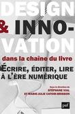Design et innovation dans la chaîne du livre