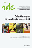 Orientierungen für den Deutschunterricht
