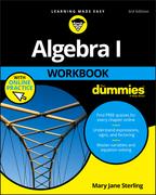 Algebra I Workbook For Dummies