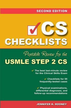 CS Checklists: Portable Review for the USMLE Step 2 CS