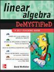Linear Algebra Demystified