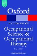 A Dictionary of Occupational Science and Occupational Therapy