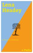 e-Pedia: Lena Headey