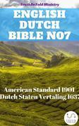 English Dutch Bible No7