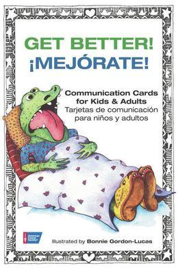 Get Better!: Communication Cards for Kids & Adults
