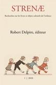 1   2010 - Robert Delpire éditeur - Strenae
