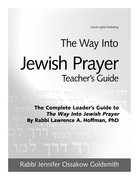 The Way Into Jewish Prayer Teacher's Guide