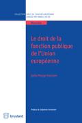 Le droit de la fonction publique de l'Union européenne