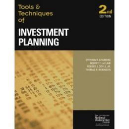 The Tools &amp; Techniques of Investment Planning