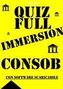 Preselezioni Concorso COADIUTORI CONSOB - QUIZ FULL IMMERSION