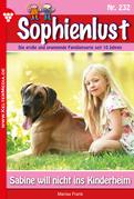 Sophienlust 232 - Liebesroman
