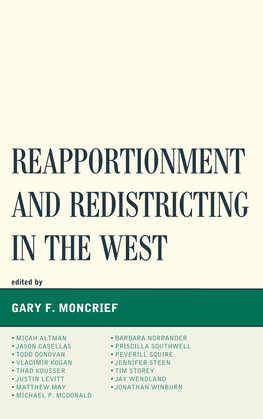 Reapportionment and Redistricting in the West
