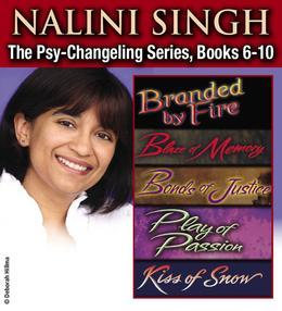 Nalini Singh: The Psy-Changeling Series Books 1?5