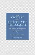 The Idea of Presocratic Philosophy