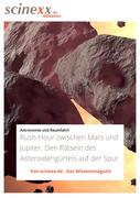 Rush-Hour zwischen Mars und Jupiter