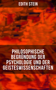 Philosophische Begründung der Psychologie und der Geisteswissenschaften