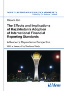 Effects and Implications of Kazakhstan's Adoption of International Financial Reporting Standards