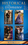 Historical Romance March 2017 Book 1-4: Surrender to the Marquess / Heiress on the Run / Convenient Proposal to the Lady (Hadley's Hellions, Book 3) / Waltzing with the Earl (Mills & Boon e-Book Collections)