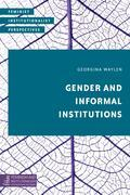 Gender and Informal Institutions