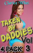 Taken By Daddies - 4-Pack Vol 3: incest taboo bareback creampie impregnation pregnancy breeding daddy daughter daddy daughter erotica father daughter father daughter erotica first time sex family sex